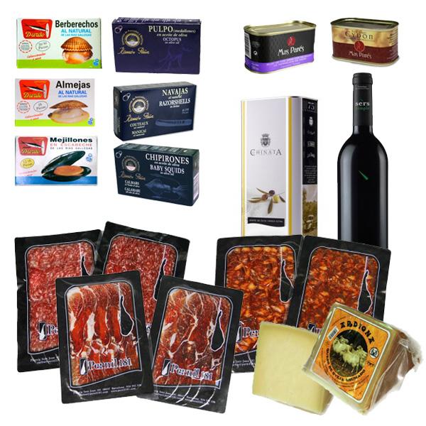 Pack ÉTÉ : sélection de produits gourmet espagnols