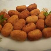 Recette: Croquettes maison de jambon Serrano et fromage