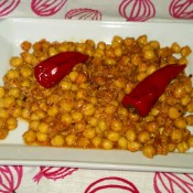 Recette: Pois chiches au chorizo de León et le thym