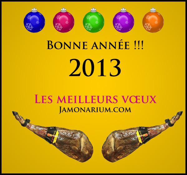 Bonne année 2013!!!