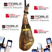 Le Mobile World Congress de Barcelone est arrivé, venez déguster notre jambon et espagnol!