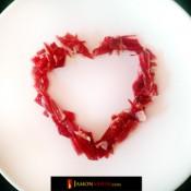 Joyeuse Saint-Valentin! Rien de mieux qu'un dîner romantique avec du jambon!