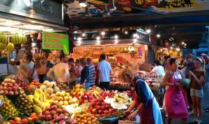 visiter maché boqueria barcelona