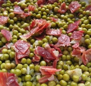 pois jambon iberique