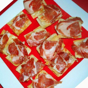 pain tomate jambon iberique