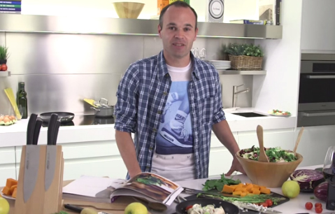 Andres Iniesta & ARCOS Couteaux