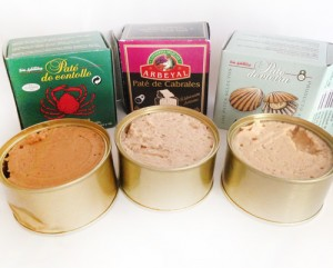 pate foie gras snack