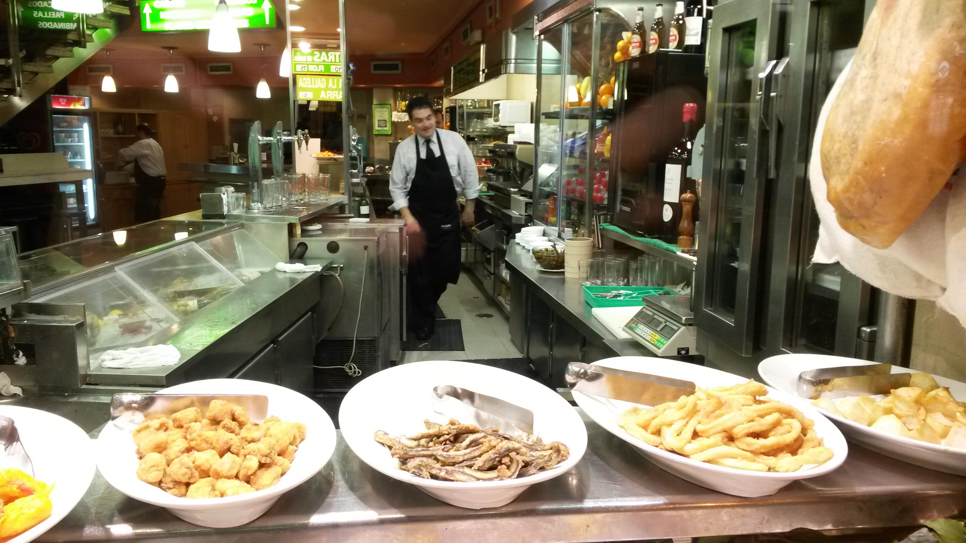 Barcelone: bars et restaurants avec une cuisine traditionnelle