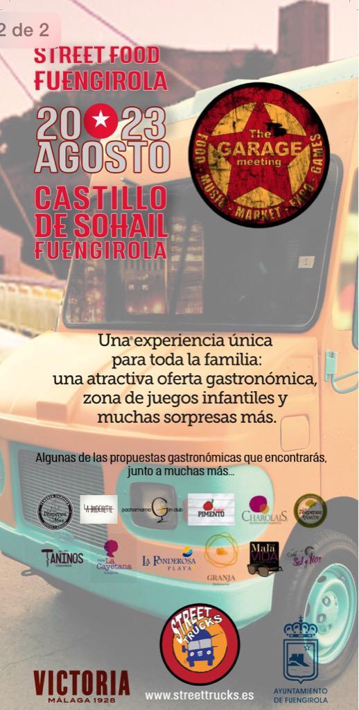 Street Food Fuengirola, un festival gastronomique sur des camions de nourriture