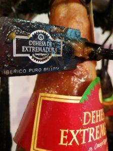 "Jambon ""D.O. Dehesa de Extremadura"" : jambon dotés de personnalité."
