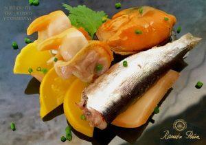 Sardines en conserve et d'autres poissons: un bref parcours