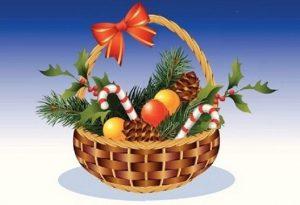 D'où vient l'idée de panier de Noël?