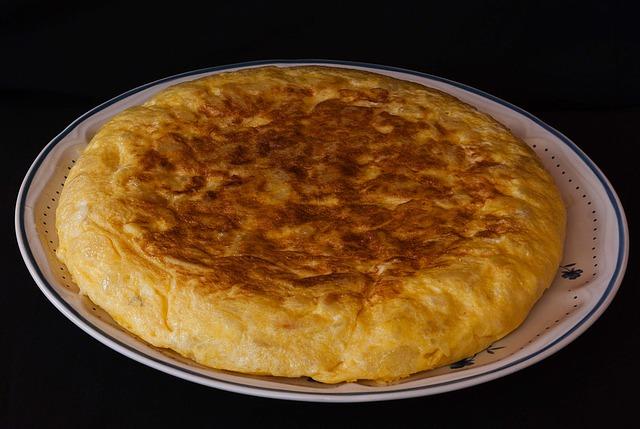 omelette pommes terre recepte