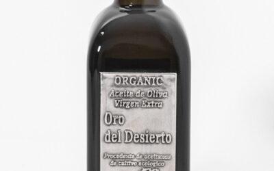 Oro del Desierto, huile d'olive bio spectaculaire